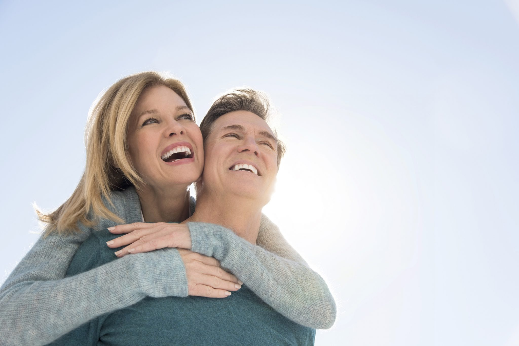 older couple having libido treatment success at focal point